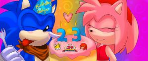 ~:Happy 23rd Birthday:~ by SonicForTheWin2