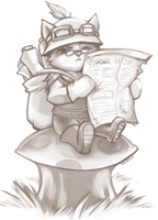 Teemo by RinTheYordle