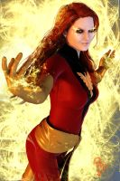 The Dark Phoenix 3D by CodenameZeus
