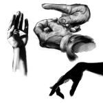 Hands Studies - Easy by duduOmag