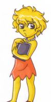 Little Lisa Simpson by jewelschan