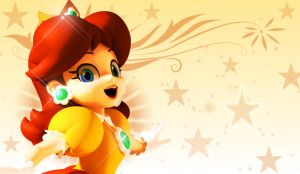 Princess Daisy Wallpaper 2 by 1kamz