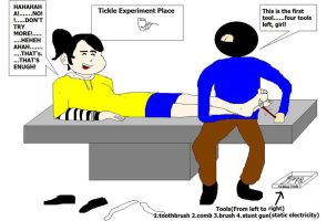 The Tickling Experiment by CHNCHN