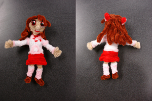 Kari made of pipecleaners by Senshi-Con