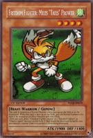 Tails Fake Yugioh card by dragonheart07