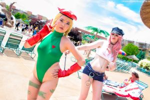 ColossalCon 2016 - Beach Fighter(PS) 04 by VideoGameStupid