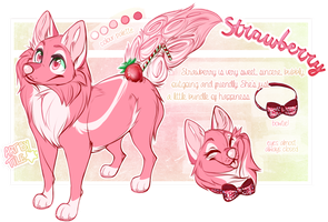 commission: strawberry by BabyWolverines
