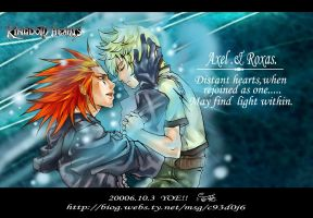 KH2: Axel and Roxas by C93Dj06