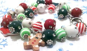 Holiday Charm Bracelet by NerdyMind