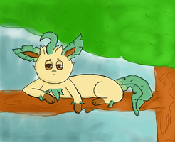 Leafeon by lemoncave