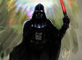 Darth Vader - Star Wars by Marto