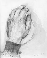 hand on tape by porkcow