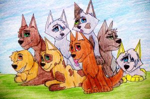 Pup Pack by Insanity36