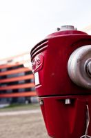 red hydrant by alien8y