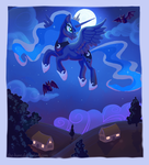 Night Flight by The-Hare