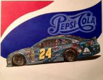 Jeff Gordon 2014 Pepsi made with Real Sugar Car by JonOwens