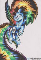 Rainbow Power Rainbow Dash by NeonLimetti