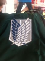 AoT/SnK Survey Corps Cloak by RikkuWolfsBane