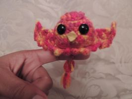 Crochet Phoenix Chick! by Jjaystar94