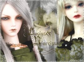 Lucius and Narcissa by Tigress0787