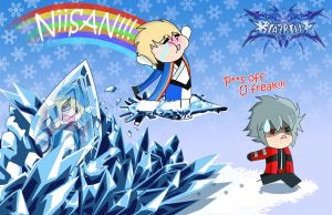 Blazblue Chrismas by Berri-Blossom