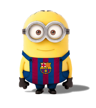 Minion Barcelona PNG by adesso38