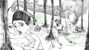 08 22 2012 ParaNorman fan art by LineDetail