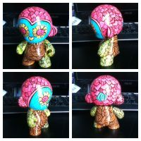 Little Owl Vinyl Munny by marywinkler