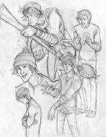 Character Sheet: Ron Weasley by Catching-Smoke