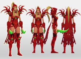 Valeera Sanguinar Model by Naitsade