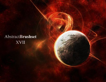 Abstract Brushes Set 17 by r0man-de