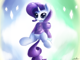 Rara with a sweater by J151