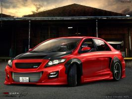 Toyota Corolla by edcgraphic