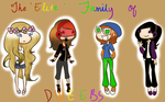 The 'Elite' Family of Dweebs! by zeldaadicXD
