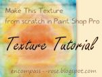 Tutorial: Texture From Scratch In PSP (2) by rosebfischer