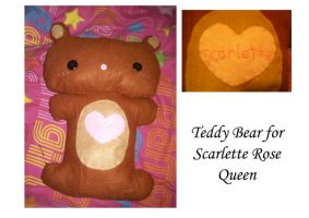 Teddy Bear for Scarlette by BakaMichi