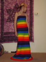 another view of the dress by kitsune-blue