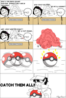 A Gamer's Life : Catch Them All! (Rage Comic 35) by 1RageComic1