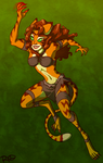 Jungle Cat by AnArtistCalledRed