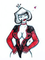 Dr Mrs The Monarch Girlfriend..whatever by nighte-studios