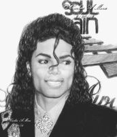 MJ At A Soul Train Awards Show by CezLeo