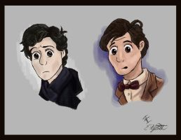 Sherlock and Smithy by Vuel