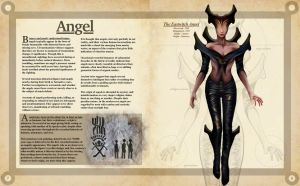 Angel Pages 1- A Natural History of the Fantastic by Christopher-Stoll