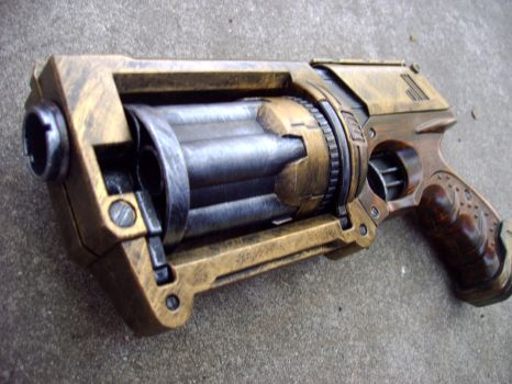 Nerf Steampunk Maverick #2 (with logos sanded off) by Segerev