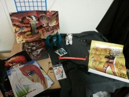 Back from Sacanime Winter con 2015 - stuff I Got by AnimeEmm