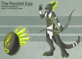 The Peridot Egg by Ulario