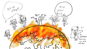 And Then The Whole Pokemon World Was On Fire by Ambercatlucky2