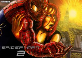 Spider-man and Mary Jean by Junior-Rodrigues