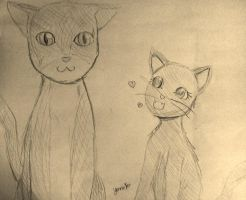 Kickstarter Commission: Oliver and Nala by FaithWalkers