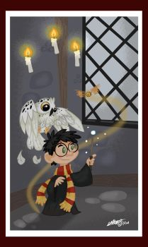 Harry Potter by ARTMONKEYMG
